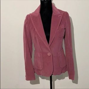 Marc Jacobs corduroy blazer purple 6